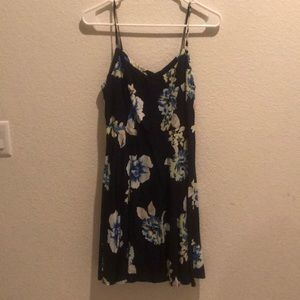 Blue Floral Dress from Old Navy